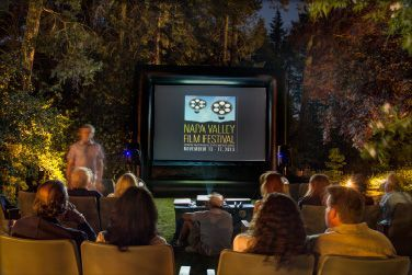 outdoor movie package photo